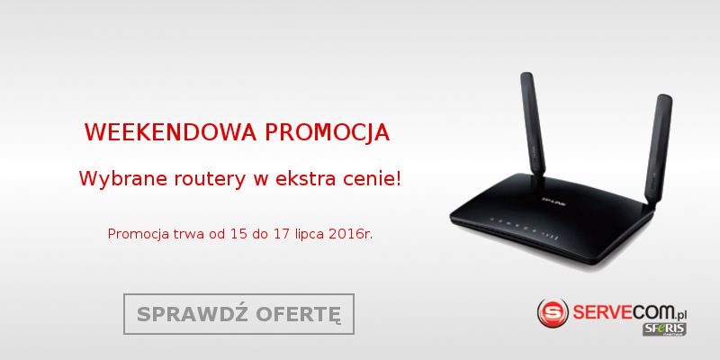 Promocja routery