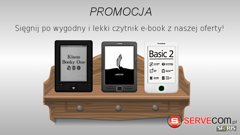 Czytniki ebook baner