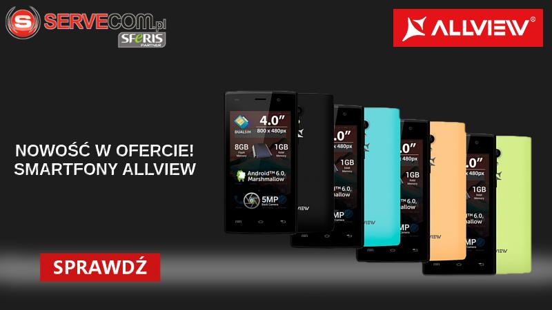 Smartfony Allview baner