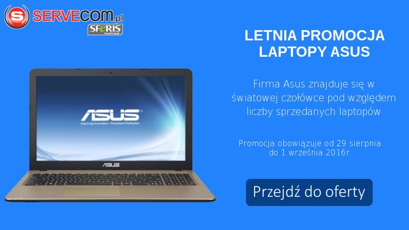 Laptopy Asus baner