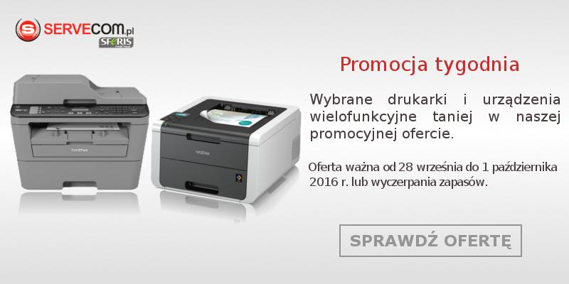 Promocja drukarki i urządzenia wielofunkcyjne