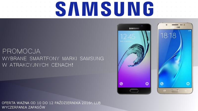 Promocja smartfony Samsung