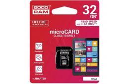 Karty pamięci GoodRam  M1AA-0320R12 (32GB; Class 10; + adapter)