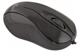 Mysz TITANUM Hornet 3D TM103K (optyczna; 1000 DPI; kolor czarny)