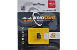 Karta pamięci IMRO 10/32G UHS-I (32GB; Class U1; Karta pamięci)