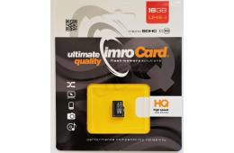 Karta pamięci IMRO 10/16G UHS-I (16GB; Class U1; Karta pamięci)