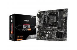 Płyta główna MSI B450M PRO-VDH MAX (AM4; 4x DDR4 DIMM; Mini ATX)